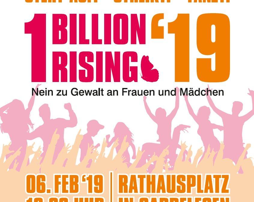 One Billion Rising am 6. Februar 2019 in Gardelegen